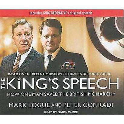 The King's Speech (Unabridged) (Compact Disc)