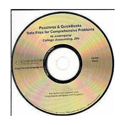 College Accounting Peachtree & Quickbooks Data Files for Comprehensive Problems (CD-ROM)
