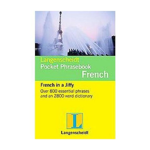 Langenscheidt Pocket Phrase Book French (Bilingual) (Paperback)