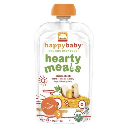 Happy Baby Organic Baby Food Stage 3 - Chick Chick (8 Pack)