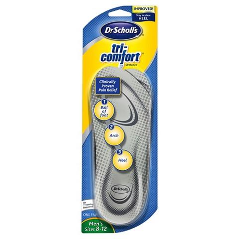 Dr Scholl's Tri Comfort Insoles for Men - Size (8-12)
