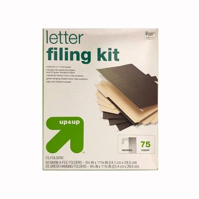 Letter Filing Kit - up & up™