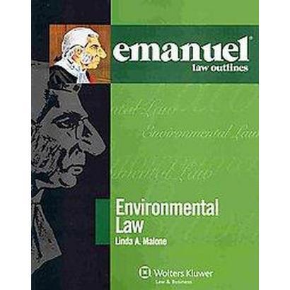 Environmental Law (Paperback)