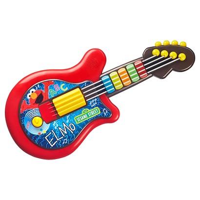Playskool Sesame Street Let's Rock! Elmo Guitar