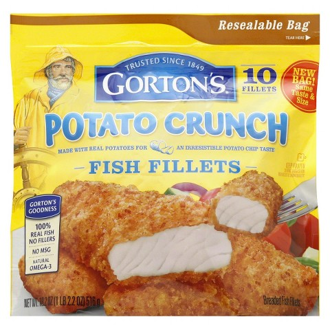 Gorton's Potato Crunch Fish Fillets 18.2 oz