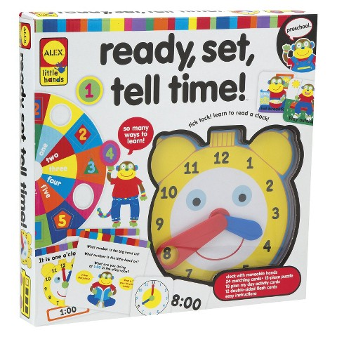 Alex Toys Ready, Set, Tell Time