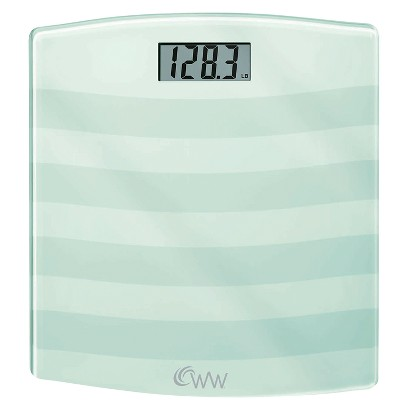 Weight Watchers Glass Scale - White