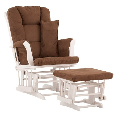 Stork Craft Custom Tuscany Glider and Ottoman