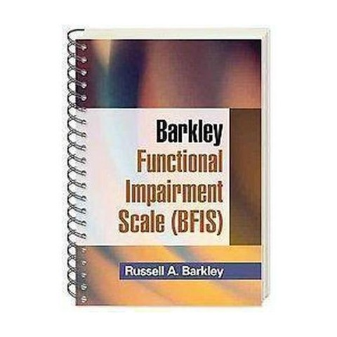 Barkley Functional Impairment Scale (BFIS for Adults) (Spiral)