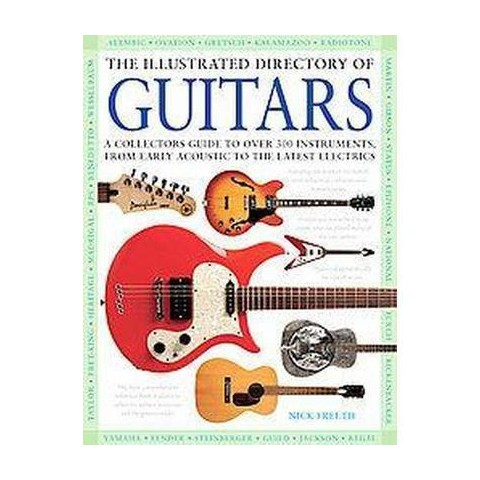 The Illustrated Directory of Guitars (Hardcover)