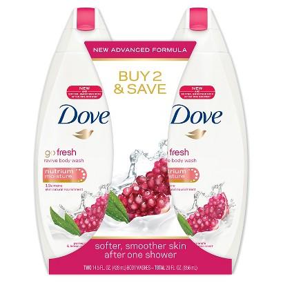Dove go fresh Revive Body Wash - 2 Count (16 oz each)