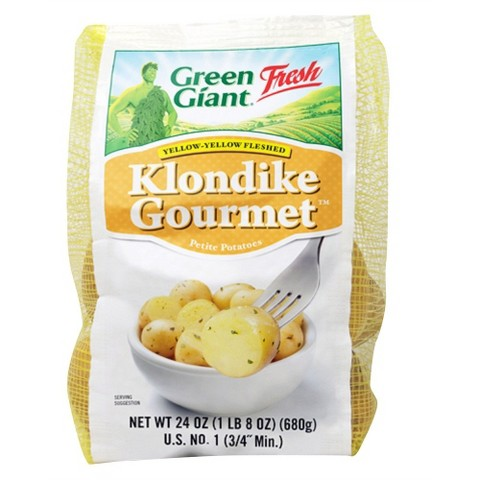Green Giant Fresh Klondike Gourmet Yellow Potatoes 24 oz