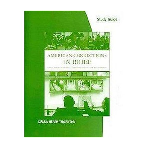 American Corrections in Brief (Study Guide) (Paperback)