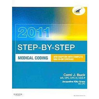 Step-By-Step Medical Coding 2011 (Mixed media product)