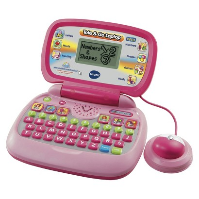 VTech Tote and Go Laptop Web Connect Pink