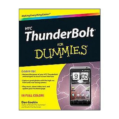 Htc Thunderbolt for Dummies (Paperback)