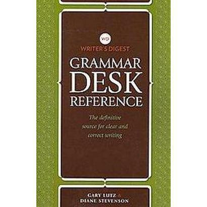 Writer's Digest Grammar Desk Reference (Paperback)