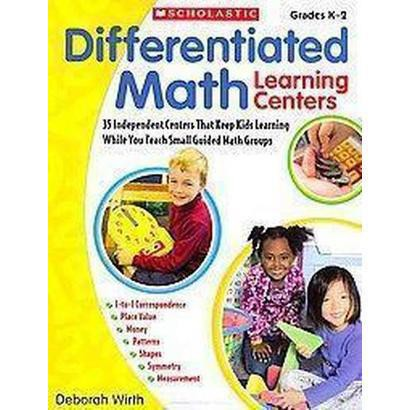 Differentiated Math Learning Centers (Reprint) (Paperback)