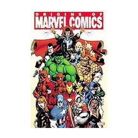 Origins of Marvel Comics (Paperback)