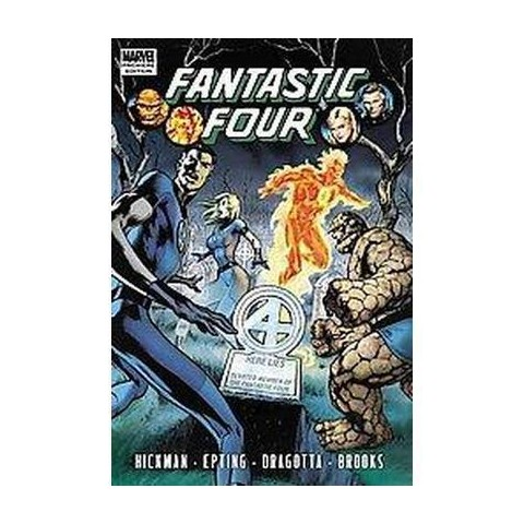 Fantastic Four by Jonathan Hickman 4 (Hardcover)