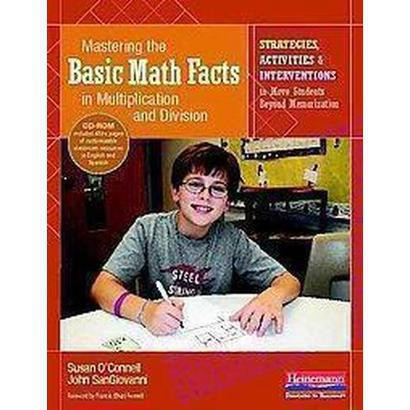 Mastering the Basic Math Facts in Multiplication and Division (Mixed media product)