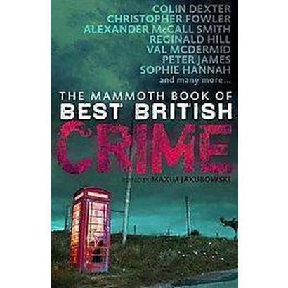 The Mammoth Book of Best British Mysteries (Paperback)