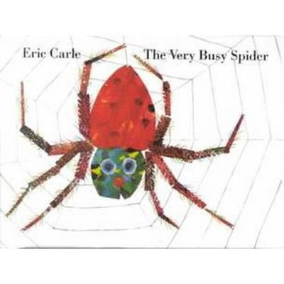 Very Busy Spider (Hardcover) (Eric Carle)