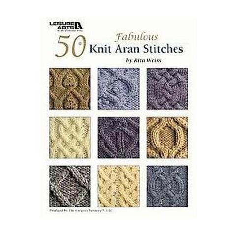 50 Knit Aran Stitches (Paperback)