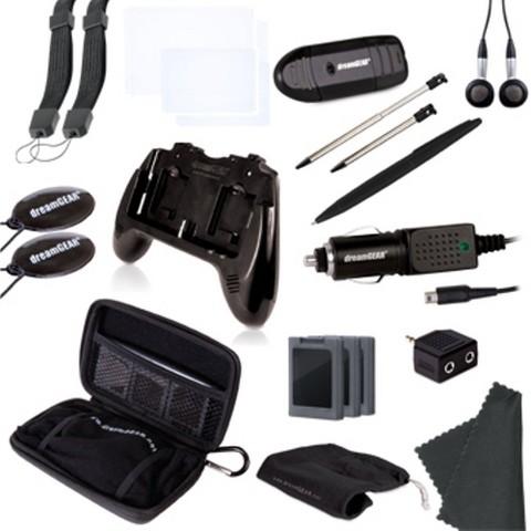 20 in 1 Essentials - Black (Nintendo 3DS)