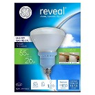 GE Reveal 80-Watt R40 CFL Light Bulb