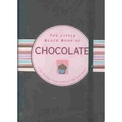 Little Black Book of Chocolate (Spiral)