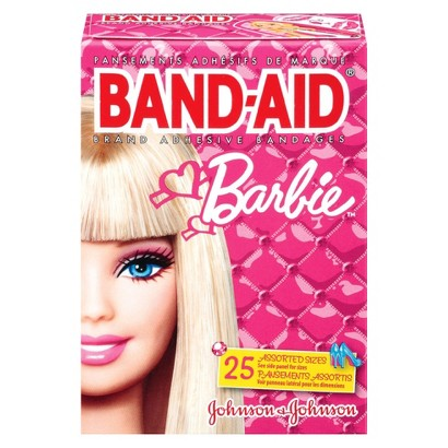 Band-aid Barbie™ Brand Adhesive Bandages - 25 Count