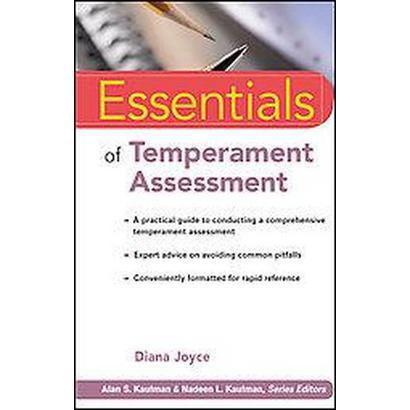 Essentials of Temperament Assessment (Paperback)