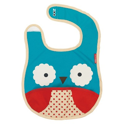 Skip Hop Zoo Little Kids & Toddler Tuck-Away Bib - Monkey