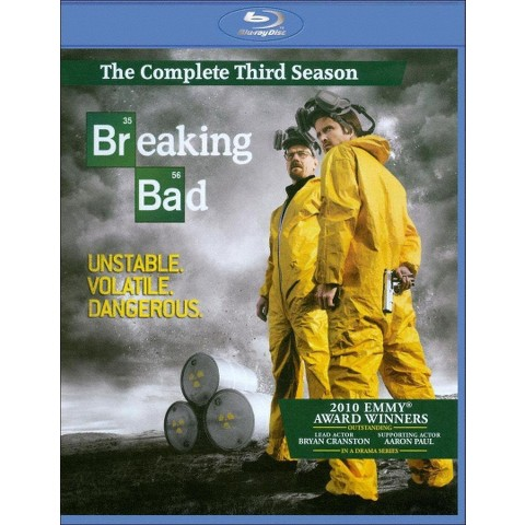 Breaking Bad: The Complete Third Season (3 Discs) (Blu-ray) (Widescreen)