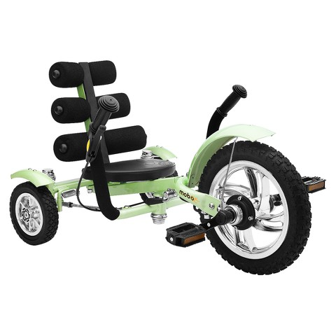 "Mobo Mini 12"" Three Wheeled Cruiser Tricycle - Green"