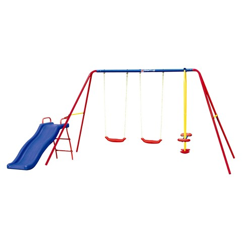 Grow'N Up Heracles III Steel Swing Set
