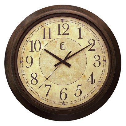 "WALL CLOCK - ANTIQUE FINISH (14"")"