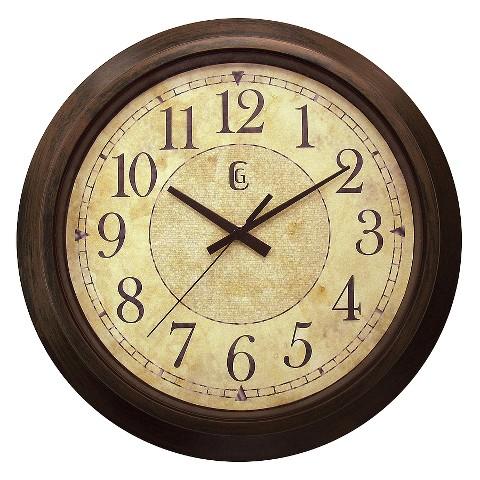 "Wall Clock - Antique Finish (14"")"