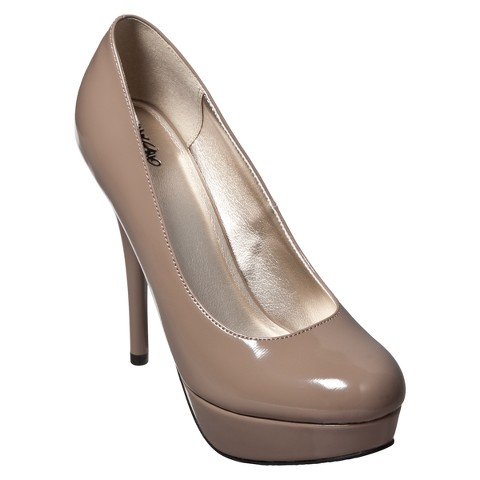Women's Mossimo® Paisley Pump - Taupe
