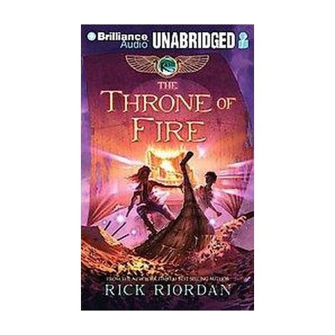 The Throne of Fire (Unabridged) (Compact Disc)