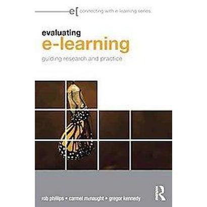 Evaluating e-Learning (Paperback)