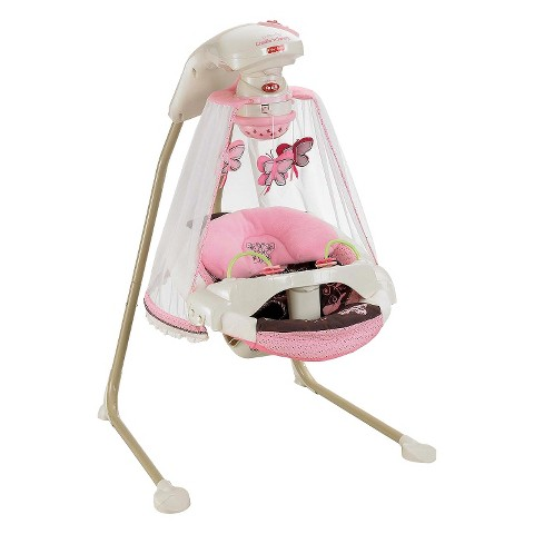 Fisher-Price Cradle Swing - Butterfly Garden