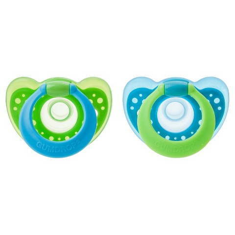 The First Years Gumdrop Pacifiers 2-pk.