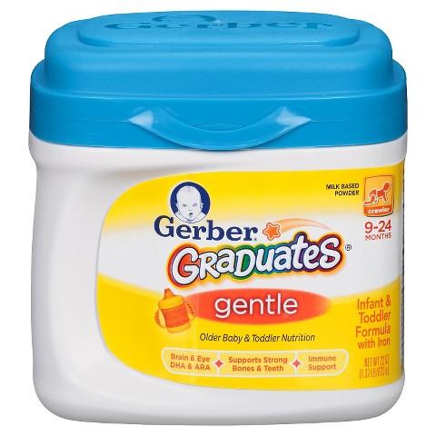 Gerber® Graduates® Gentle Powder Older Baby and Toddler Formula - 22oz (3 Pack)