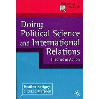 Doing Political Science and International Relations (Paperback)