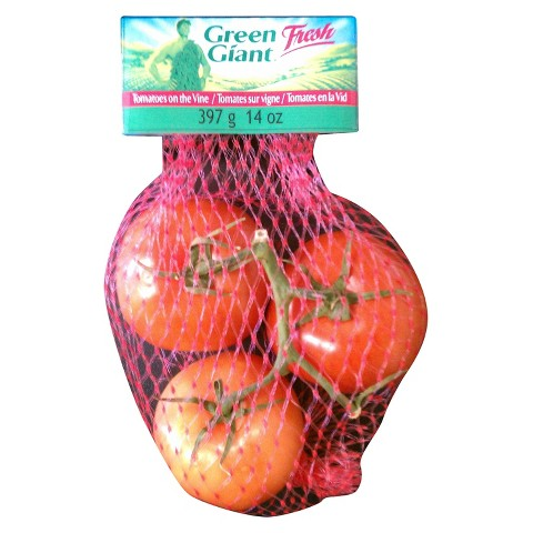 Green Giant Fresh Red Tomatoes on the Vine 14 oz