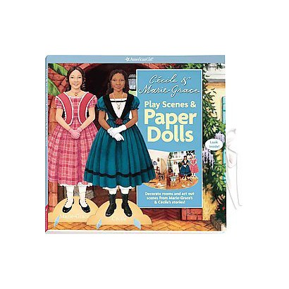 Cecile & Marie-Grace Play Scenes & Paper Dolls (Hardcover)