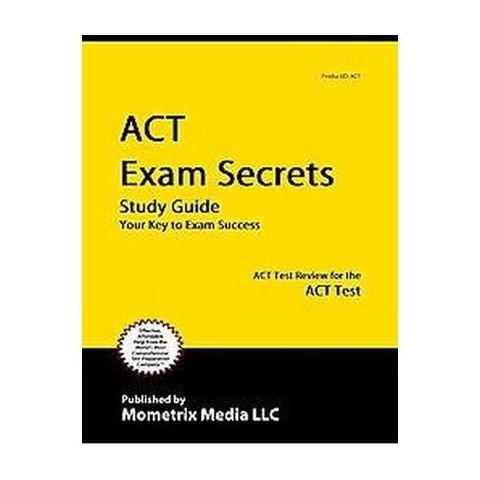 ACT Exam Secrets (Study Guide) (Paperback)