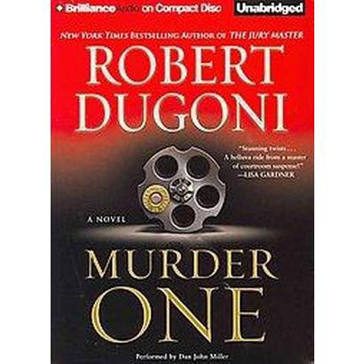 Murder One (Unabridged) (Compact Disc)